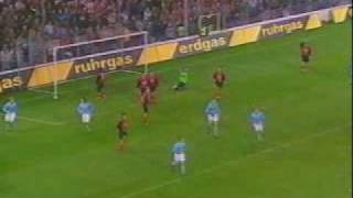 preview picture of video 'Pi-Air 2-1 SC Freiburg-Feyenoord'