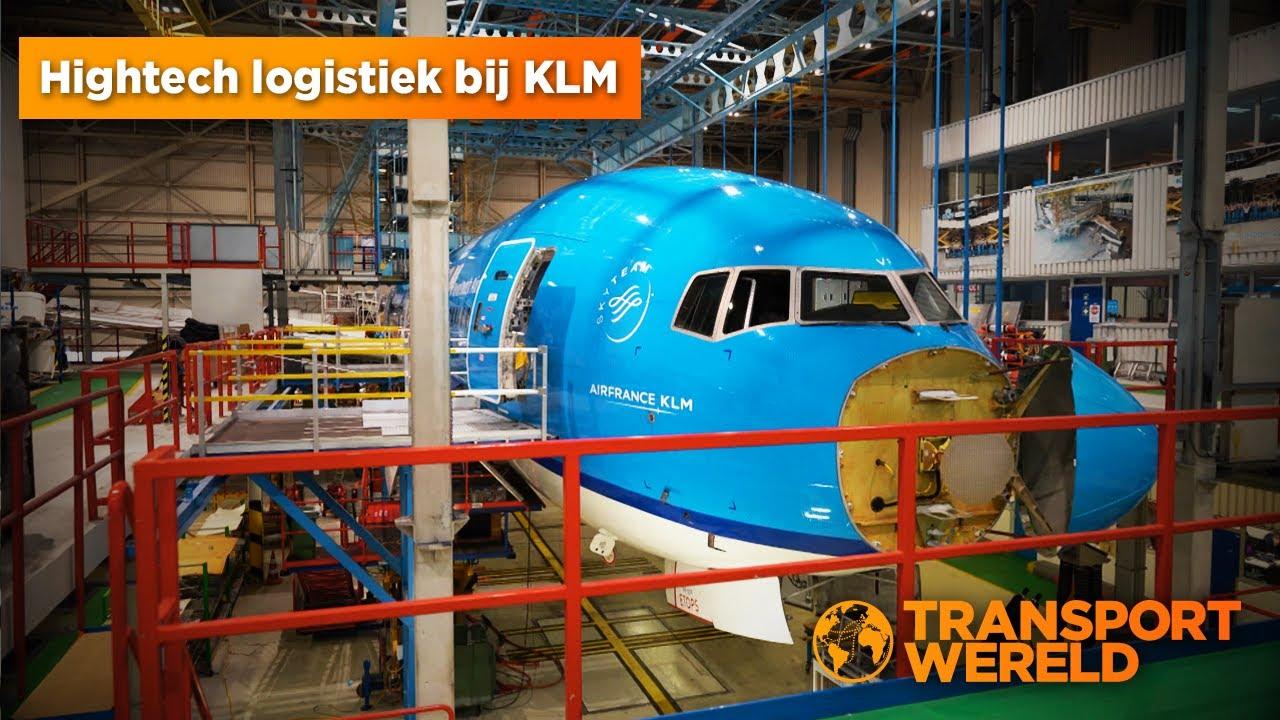 Hightech logistiek bij KLM door Kruizinga.nl