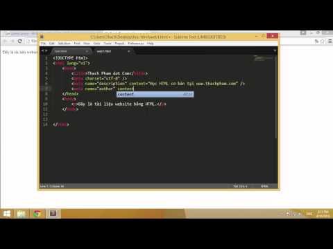 Học HTML cơ bản cùng Thạch Phạm (P4)