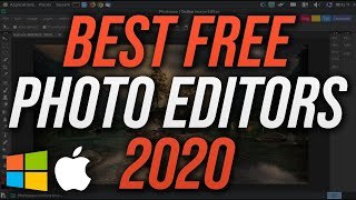 Top 5 Best FREE Photo Editing Software 2020 (Photoshop Alternatives)