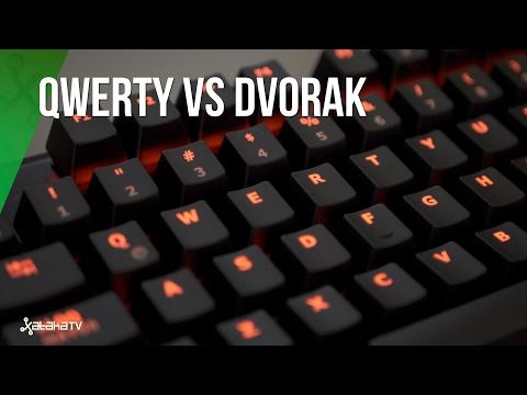 QWERTY vs DVORAK: las dos grandes alternativas de teclado