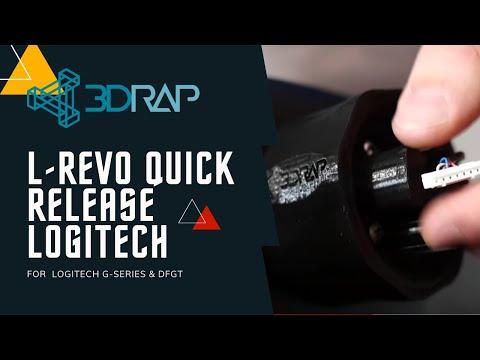 G29 - CUSTOM WHEEL MOD   HOW TO INSTALL   LOGITECH UPGRADE   DIY