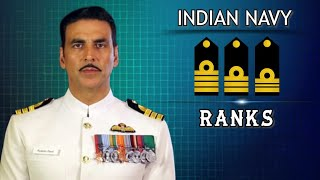 Ranks in Indian Navy   Ranks of Officers, JCO, NCO   Rank, Hierarchy, insignia, badges