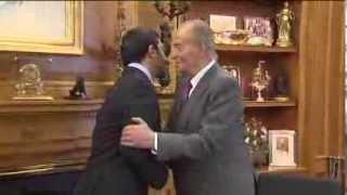 preview picture of video 'S.M. el Rey recibe al ministro de exteriores de los Emirato Árabes'