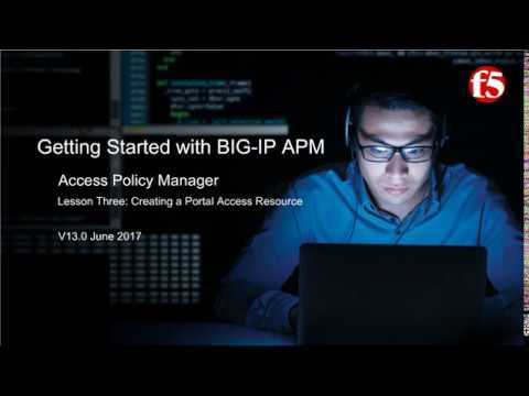 F5 BIG IP APM | Getting Started with BIG IP Access Policy Manager ...