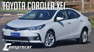 Avaliação: Toyota Corolla XEi