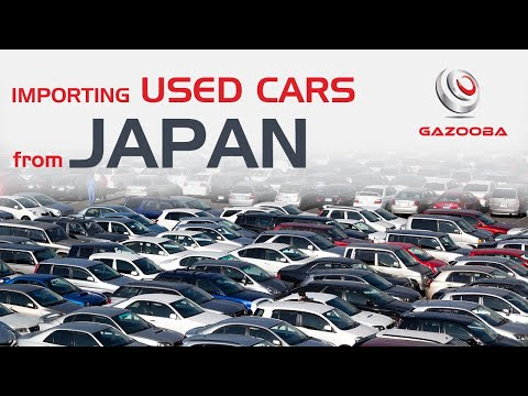 Choose Gazooba for Importing Used Cars from Japan
