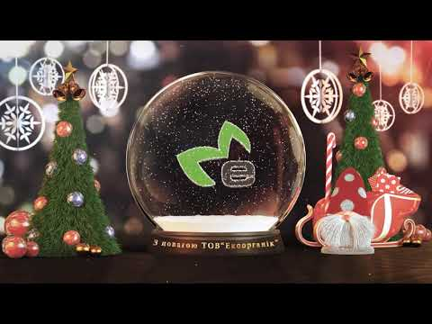 Video Congratulations on Merry Christmas and New Year 2018