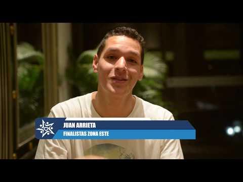 Juan Arrieta Finalista Mejor Canción Zona Este