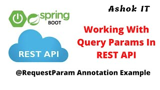 Working With Query  Parameters In REST API   Example   Ashok IT