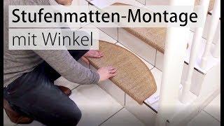Stufenmatten verlegen und richtig montieren. Die Anleitung von Teppichscheune.de