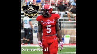 Siran Neal DB Jacksonville State Highlights 2018 NFL Draft