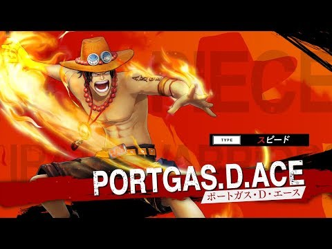 One Piece : Pirate Warriors 4 : Gameplay Portgas D. Ace  (JP)