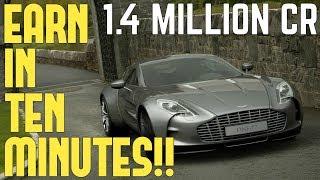 GT SPORT - EARN 1.4 MILLION in 10 MINUTES (EASY)