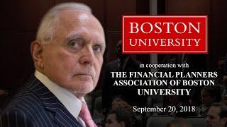 Dan Talks at Boston University (2018)