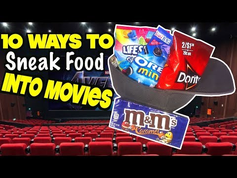 10 Smart Ways To Sneak Food Into The Movies To Avoid Spending a Lot Of Money - MUST TRY | Nextraker