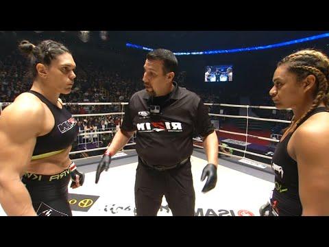 Gabi Garcia (Brazil) vs Seini Draughn (USA)   KNOCKOUT, MMA fight HD