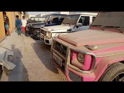 ABANDONED CARS IN DUBAI-BILLIONAIRE'S EDITION(ROLLS ROYCE,G WAGONS,PORSCHE)