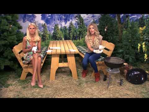 Die hitzebeständigen Grillhandschuhe mit Katie Steiner (Juni 2018)