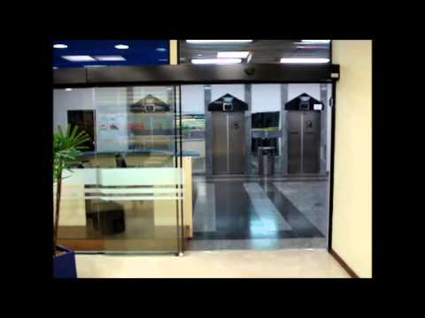 Porta Automática Telescópica