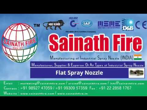 Flat Spray Nozzle