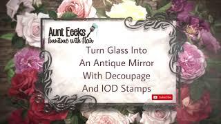 Easy DIY Old Window Into Antique Mirror