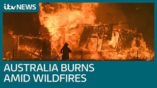 Australia's PM defends policy on climate change amid wildfires | ITV News