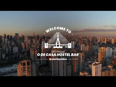 O de Casa Hostel Bar, Sao Paulo, Brazil hostel