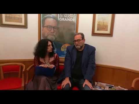 Pierluigi Piccini candidato sindaco a Siena - 29/05/2018
