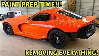 "Rebuilding A Wrecked 2014 Dodge Viper TA ""TIME ATTACK"" PART 14"