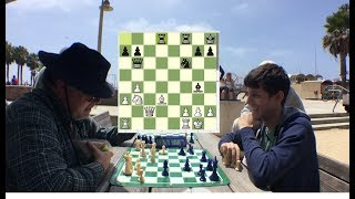 DID THIS CELEBRITY CHESS MASTER JUST HUSTLE THE GREAT CARLINI???