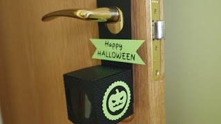 HALLOWEEN: Hanging candy box - Caja colgante