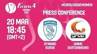 Press Conference – Dynamo Kursk v UMMC Ekaterinburg – EuroLeague Women 2017-18