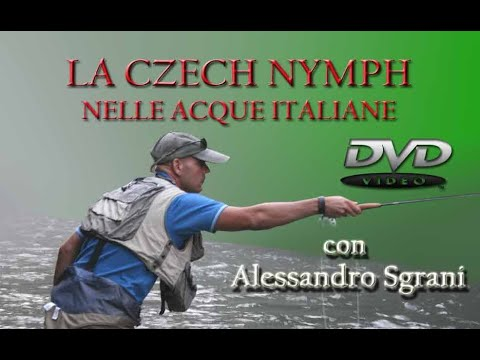 La Czech Nymph nelle acque Italiane - DVD 2009 -