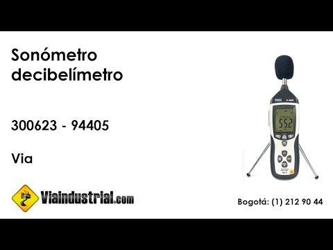 Sonómetro digital  decibelímetro