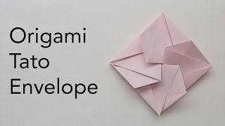 Easy Origami Tato Envelope Tutorial - Wedding / Birthday / Events Paper Invitation