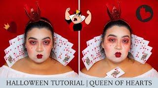 Queen of Hearts   Makeup Tutorial   Halloween 2018