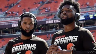 OBJ and Jarvis Landry FORCED by NFL To Change Cleats Or Sit Out During Browns/Broncos Game!