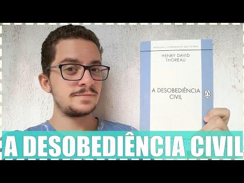 A Desobediência Civil - Henry David Thoreau - Junior Costa