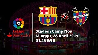 Video Live Streaming dan Jadwal Barcelona Vs Levante, Via MAXStream beIN Sport