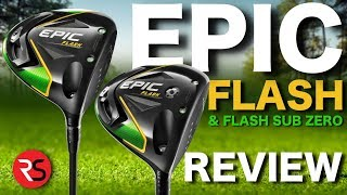Rick Shiels reviews Callaway Epic and Sub zero driver