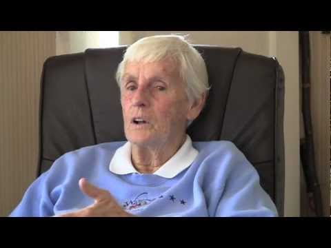 Wilma Briggs reminisces about her baseball career
