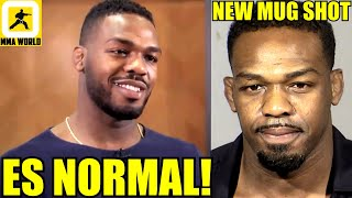 Jon Jones allegedly pulled a woman's hair and headbutted a police car acc. to arrest report, Bisping