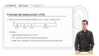 Estructura de Computadores  - Representación de Instrucciones Mips - José Luis Abellán Miguel
