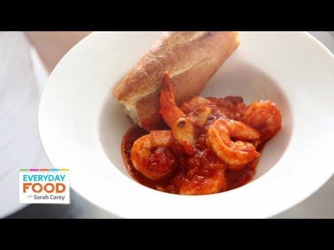Spicy Shrimp Marinara – Everyday Food with Sarah Carey