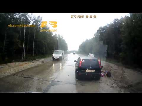 Video: Near misses on the Road
