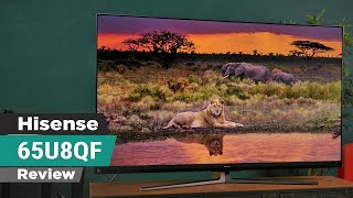 Hisense U8QF 4K TV - True HDR, Superb value