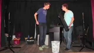 preview picture of video 'Bühnenaufbau Max und Pille'