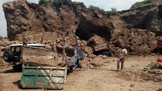 Tebing Setinggi 15 Meter Longsor dan Timpa 7 Truk, Satu Orang Dilarikan ke Rumah Sakit