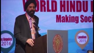 Session 1 Shri Navneet Chugh at WHEF 2016@Los Angeles